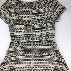 Banana Republic Short Sleeve Dress size 4 Tweedish